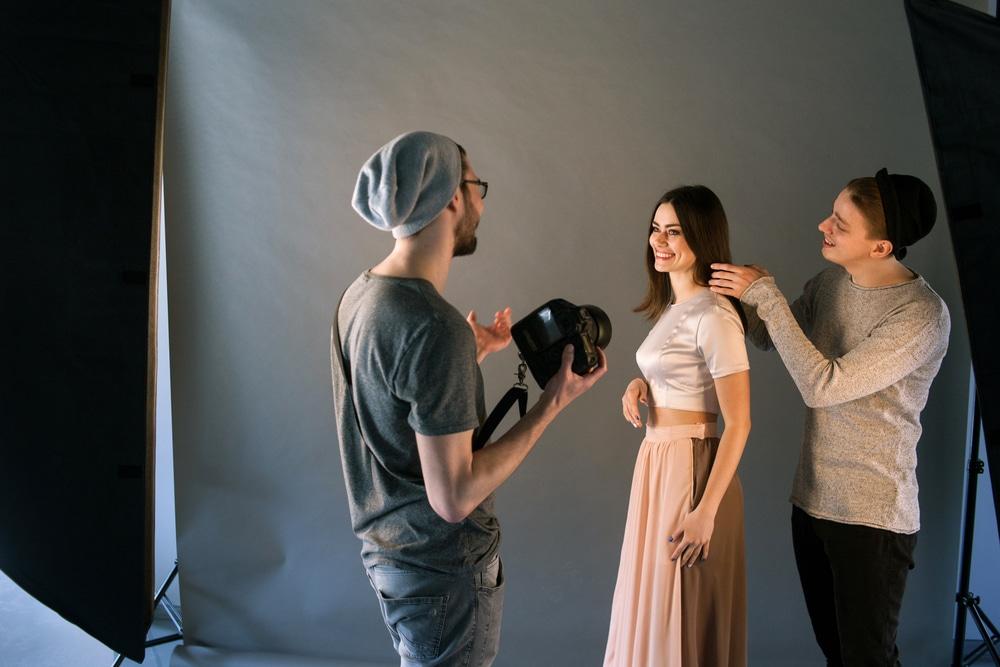 fashion shoot stylist